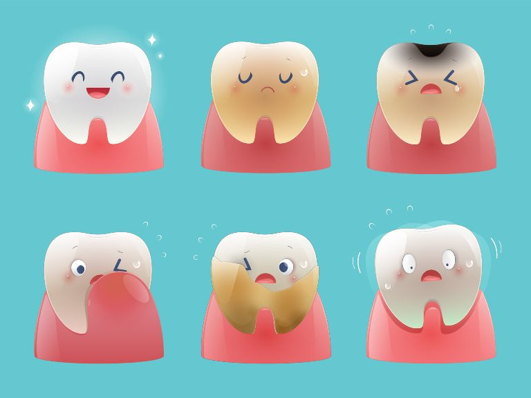 bruised tooth symptoms